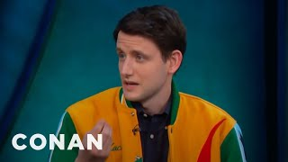 "Zach Woods Is Obsessed With ""Butt-Chugging""  - CONAN on TBS"