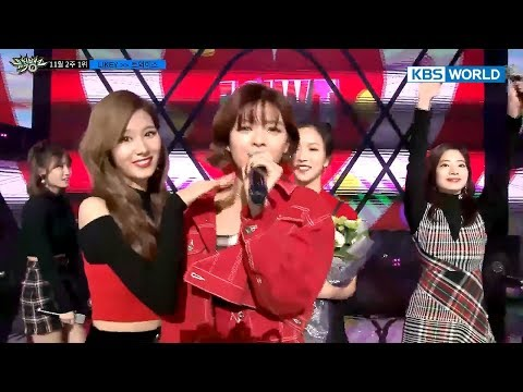 Behind the Scenes of TWICE's Top Song Ceremony [Music Bank/2017.11.10]