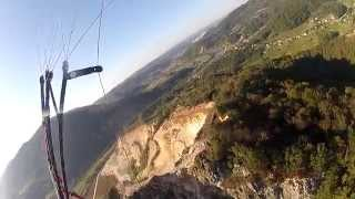 paragliding crash zombie