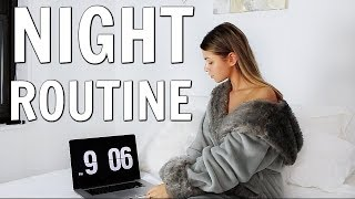 MY REAL NYC COLLEGE NIGHT ROUTINE | 2018