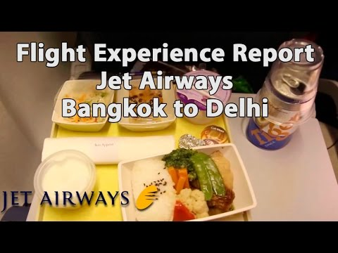 Trip Report : Jet Airways | Bangkok to Delhi | 9W063 | Economy | BKK - DEL + bonus