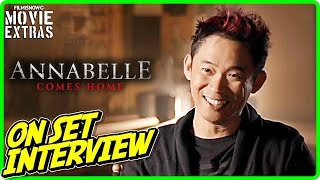 "ANNABELLE COMES HOME | James Wan ""Producer"" On-set Interview"