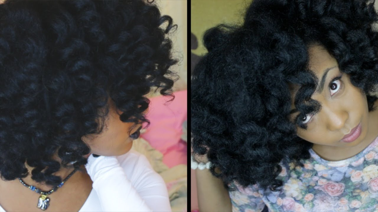 Curling Your Hair Tutorial Tutorial on Natural Hair