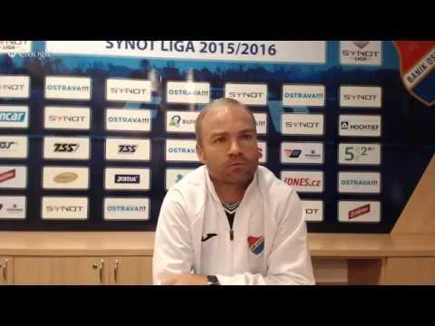 Tisková konference FC Baník Ostrava před utkáním s SK Slavia Praha