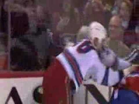 Kovalev elbow + Hollweg boarding + Orr vs. Bouillon 2/3/08 Video