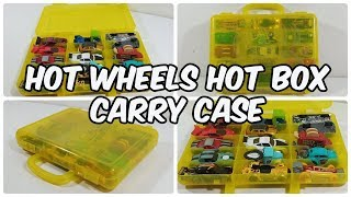 Hot Wheels Hot Box Carry Case || 15 cars || storage for cars || cars/toys for kids