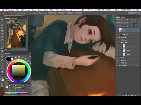 Still Waiting [Digital Painting]
