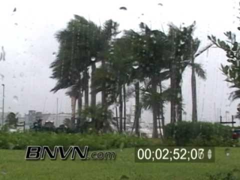 Hurricane Frances Video, Fort Pierce, FL and Hutchinson Island, FL Part 2