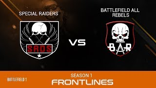Battlefield 1 | HDO Qualifiers | SRDS vs BAR