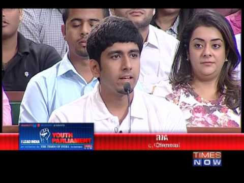 The Youth Parliament Debate - Politics Debate - Part 1