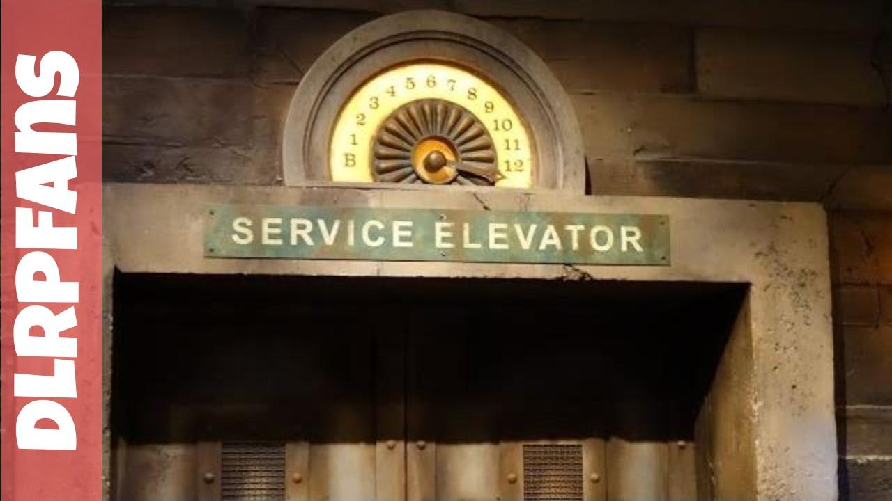 The Twilight Zone Tower Of Terror At Disneyland Paris