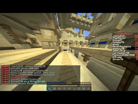 "Minecraft: Quake Craft #1 - ""Hicka :("" - w/ John och Edgar"