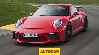 Porsche 911 GT3 review   Hardcore new Porsche tested on track   Autocar