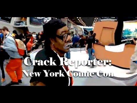 Lord Cracky - Crack Reporter: NYCC CRACKYCON 2013