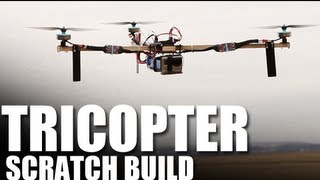 Flite Test - Tricopter - SCRATCH BUILD