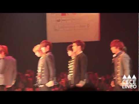 [FANCAM] 121213 BTOB (비투비) at Thai Supermodel Contest 2012 - Born To Beat (Intro)