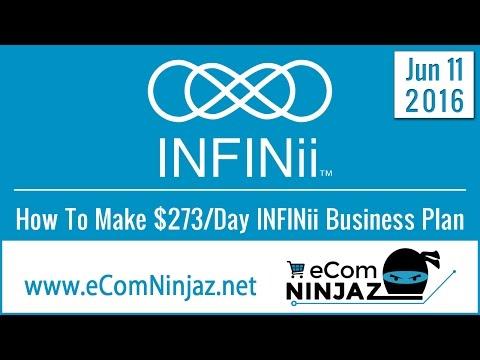 INFINii Blueprint How to Make $273 per Day INFINii Business Plan June 11 eCom Ninjaz