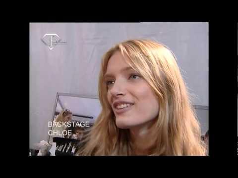fashiontv | FTV.com - Lily Donaldson Models Talk S/S 08