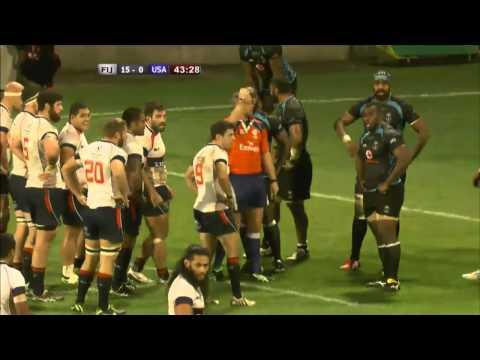 2014 USA Rugby Autumn International Series: Fiji vs USA