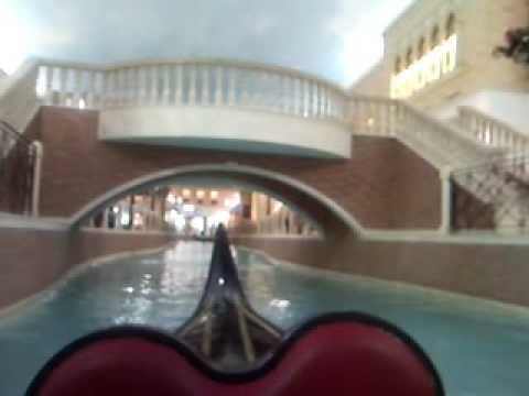 Qatar Doha Villagio Mall - Gondelfahrt