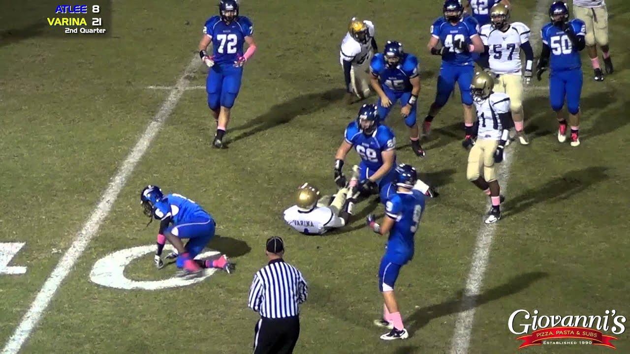 Atlee vs Varina- Football Highlights - 10/12/12 - YouTube