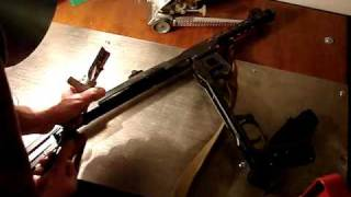 Deactivated firearms PPSH-41, PPS-43, AKM