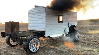 The 100MPH Coal Rolling Duramax House