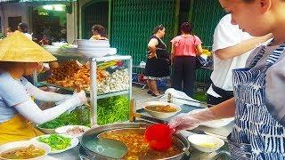 Em gái Sài Gòn bán Bún Thái cực ngon và sạch trong hẻm Hồ Thị Kỷ Quận 10 | street food of saigon