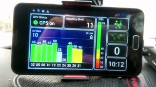 Работа Re-Radiator (усилитель GPS сигнала)