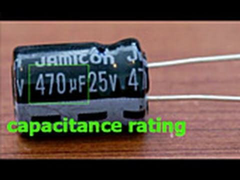 Capacitor Replacement Tutorial Youtube