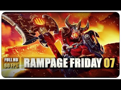 Dota 2 Rampage Friday - EP 07