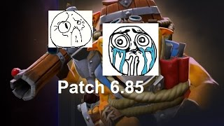 Poor Techies, Sad Story Dota 2 Reborn Patch 6.85 !