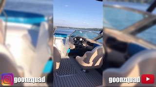 First ride with the new boat interior 🤙 Goonzquad story from 05.09.2019