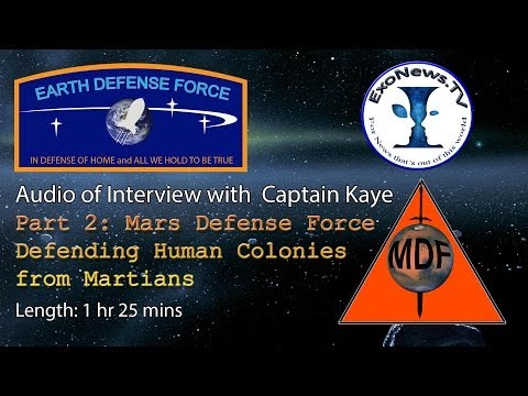 Audio - Mars Defense Force: Defending Human Colonies - Full Interview