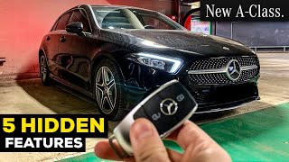 5 HIDDEN MERCEDES FEATURES TRICKS TIPS You Didn't Heard About! 2019 A CLASS