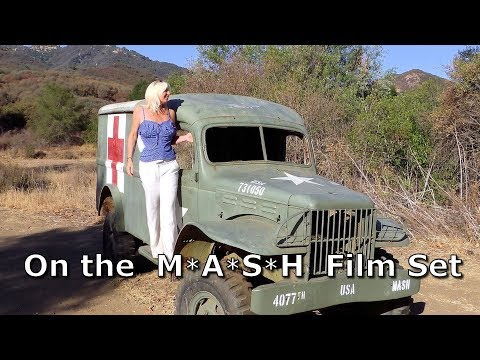 M*A*S*H - Getting to the MASH 4077 film set location in Malibu Creek S...