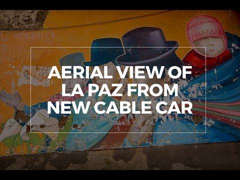 La Paz in the Air