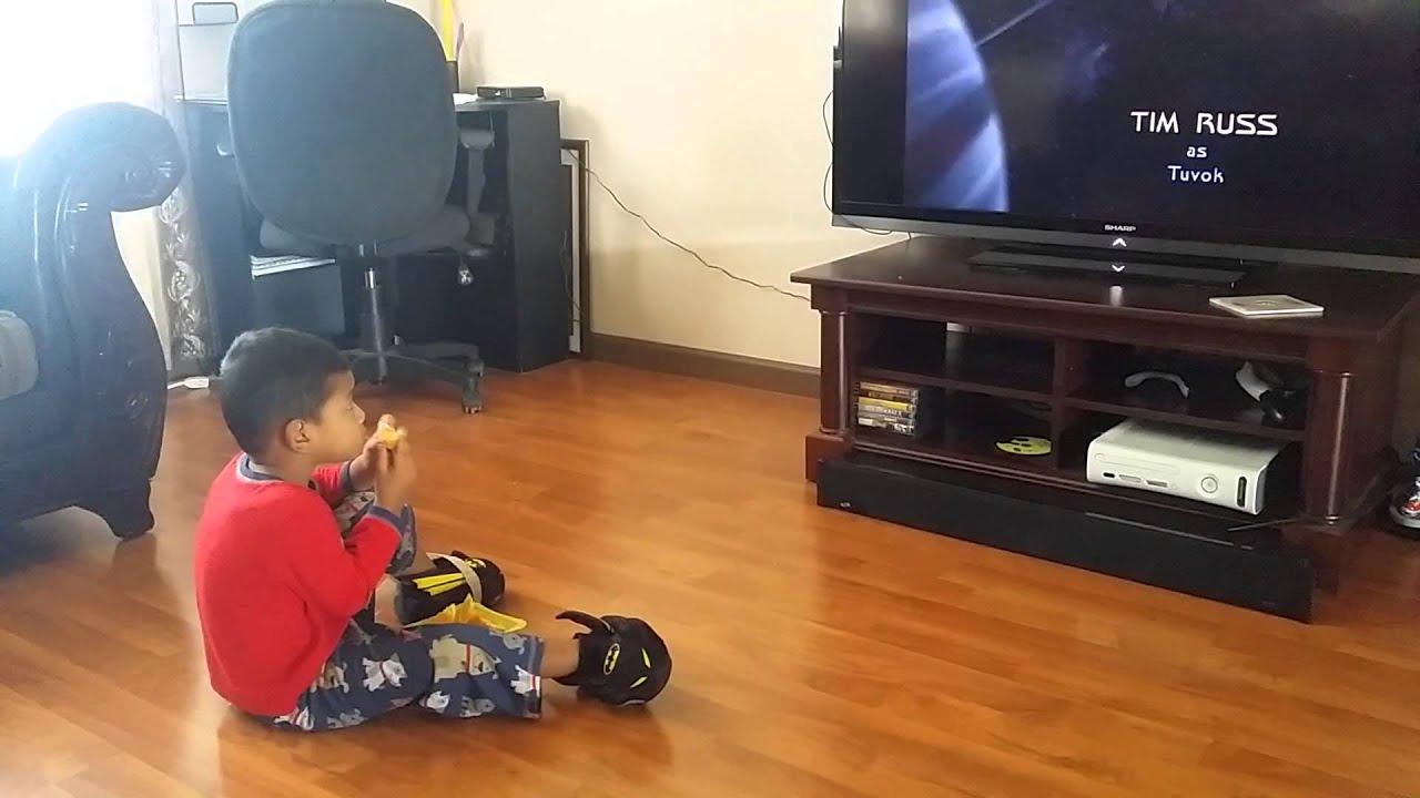Ayden likes Star Trek theme songs - YouTube