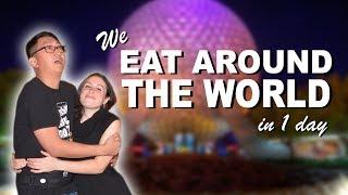 EATING AROUND THE WORLD