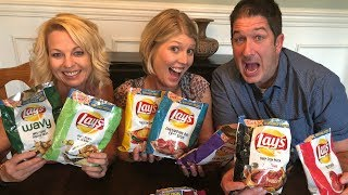Lay's 8 New Taste of America Flavors 2018 - Chip Challenge