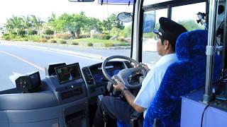 石垣島で自動運転バス実証実験(内閣府)