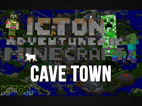 ICTON Adventures in Minecraft - Cave Town