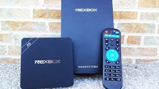 tv box Nexbox A5 UNBOXING & REVIEW ESPAÑOL - S905X, 2GB RAM, 16GB ROM, Android 6.0