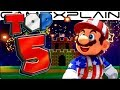 Top 5 Fireworks Shows in the Super Mario Series (Happy 4th of July!)