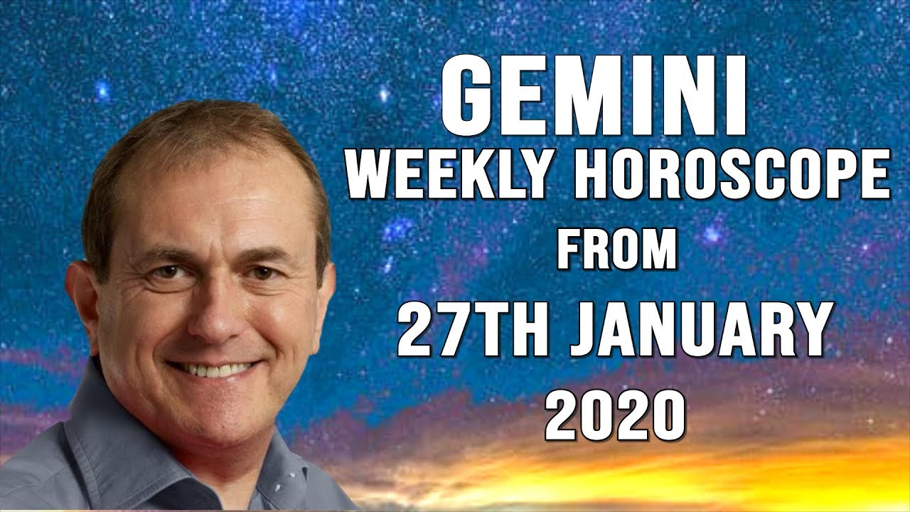 Weekly Horoscopes from 27th January 2020