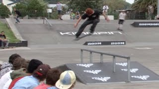 Kick Push East Coast Gisborne 2009, Skateboarding Comp at Alfred Cox skate-park (Part 2)