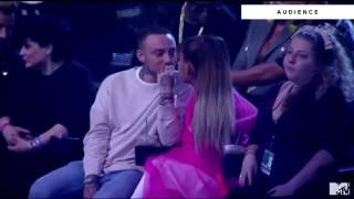 Ariana Grande and Mac Miller & MTV Video Music Awards 2016