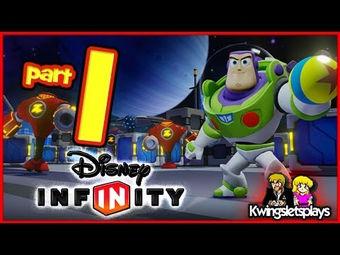 Disney Infinity Walkthrough Toy Story in Space Playset Part 1 Buzz Lightyear