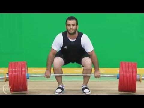 413kg WORLD RECORD in Total (94 kg) - Sohrab MORADI