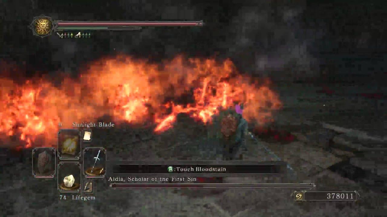 Dark Souls 2 Boss Aldia